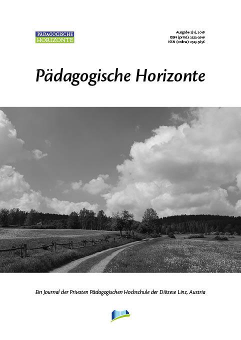 Pädagogische Horizonte 2(1), 2018